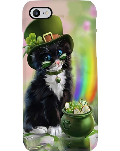 Cat Irish Lucky phone case