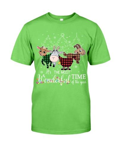 Goat wonderful christmas
