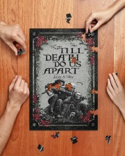 Skull couple 'till death do us apart 250 Piece Puzzle (vertical) aos-jigsaw-puzzle-250-pieces-vertical-lifestyle-front-06