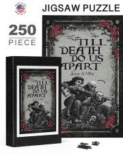 Skull couple 'till death do us apart 250 Piece Puzzle (vertical) aos-jigsaw-puzzle-250-pieces-vertical-lifestyle-front-24