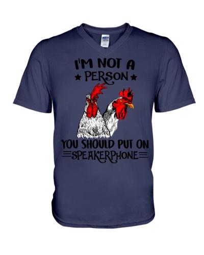 Chicken speakerphone