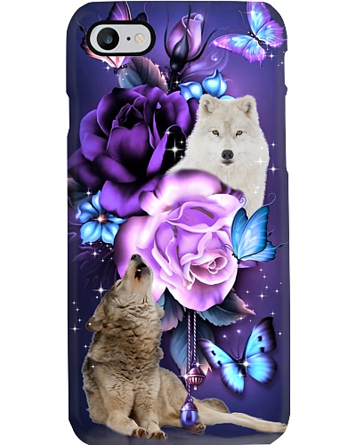Wolf magical phone case