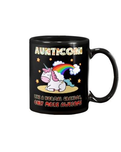 Unicorn aunt awesome mug