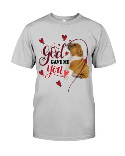 SHN 3 God gave me you Bulldog shirt