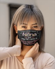 sn my nickname is nena Cloth face mask aos-face-mask-lifestyle-18