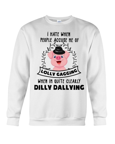 Pig lolly gagging shirt