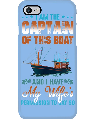 SHN 5 Captain of this boat have wife permission