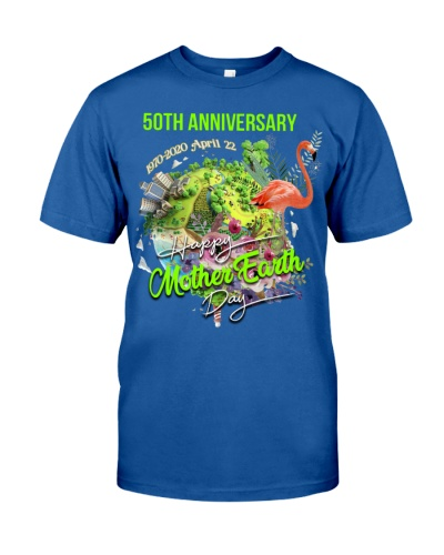 SHN 50th Anniversary Mother Earth day Flamingo