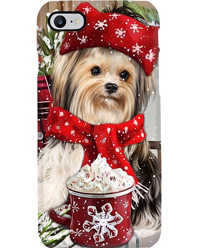 SHN 10 Christmas ice coffee Yorkshire Terrier