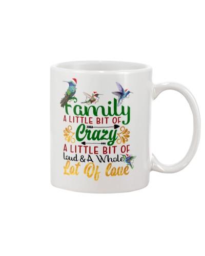 Family A Whole Lot Of Love Hummingbird Mug