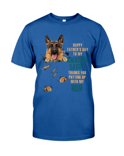 SHN 9 Happy father's day amazing German Shepherd