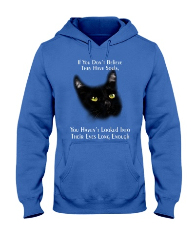 Black cat have soul