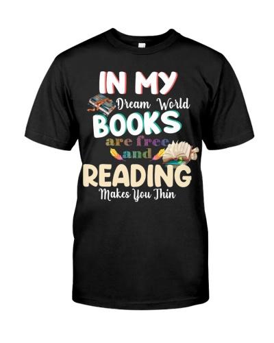 Book in my dream world