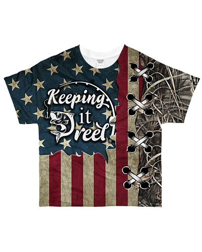 TTN 6 Fishing Keeping It Reel All Over Shirt