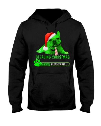 Stealing Christmas Bulldog