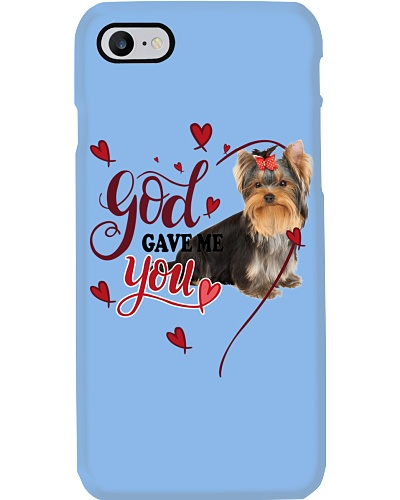 SHN 3 God gave me you Yorkshire Terrier shirt