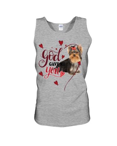 SHN 3 God gave me you Yorkshire Terrier shirt