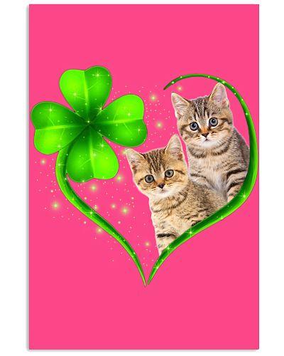 Lucky Green Heart  Cat