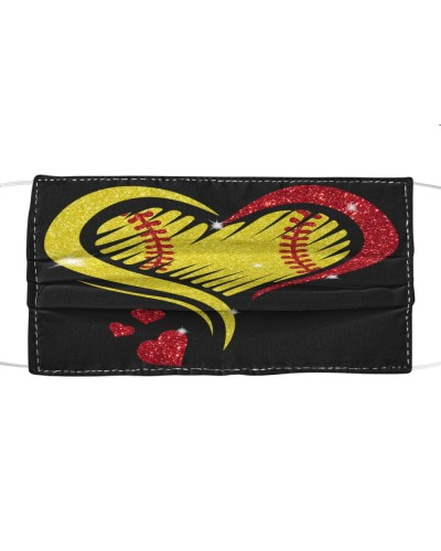 dt 11 softball heart sport cloth 15520