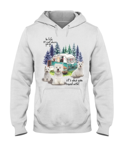 West Highland Terrier it's who you travel with