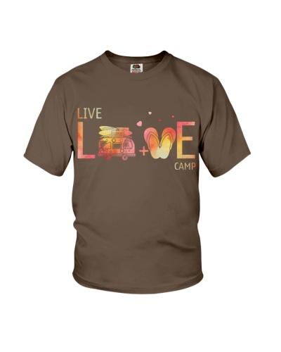 Camping live love shirt