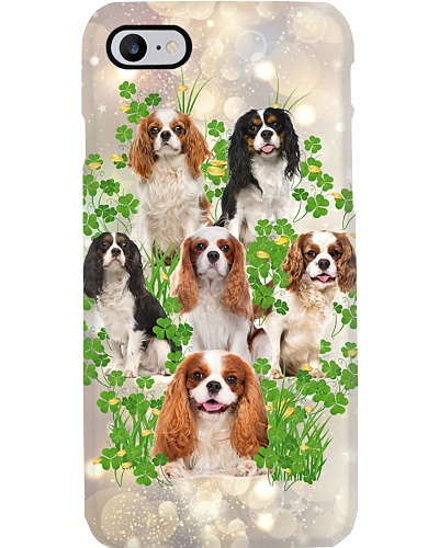 Cavalier king funny patrick's day phone case