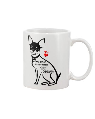 chihuahua good day mug 3105