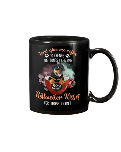 Rottweiler Kisses And Coffee
