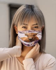 Th 2 Highland Cattle color pattern Cloth face mask aos-face-mask-lifestyle-18