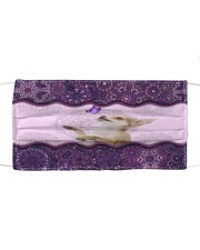 fn 2 chihuahua purple pattern f Cloth face mask front