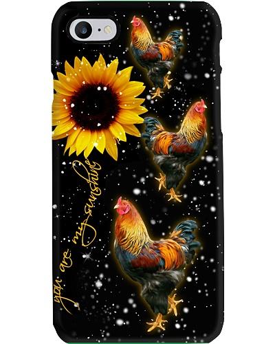 Chicken U r my sunshine phone case comeback
