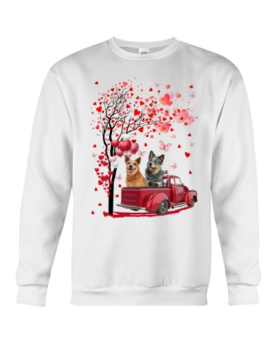 Red Car Love Tree Heeler Shirt
