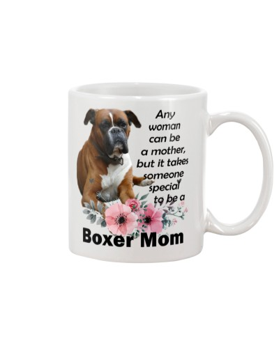 Boxer a special mom