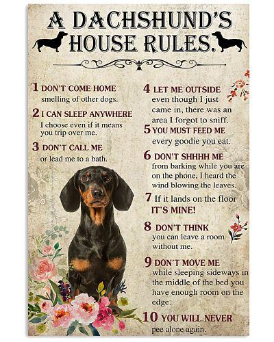SHN 10 A Dachshund's house rules