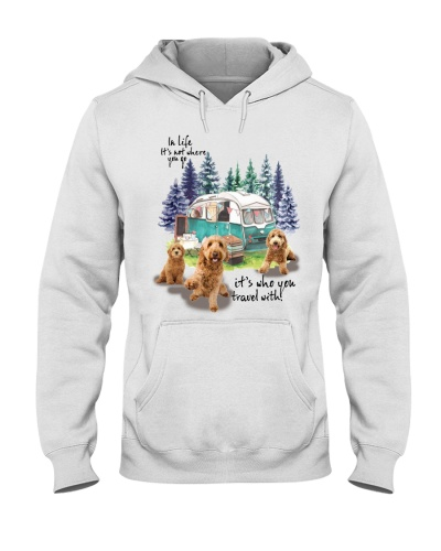Goldendoodle it's who you travel with