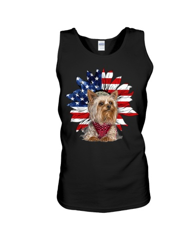 Ln yorkshire terrier sunflower and freedom