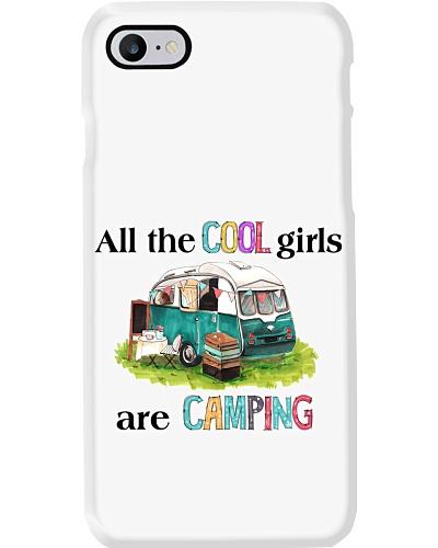 Camping cool girls