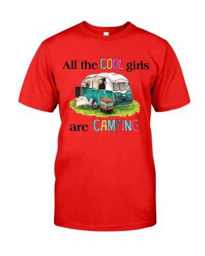 Camping cool girls
