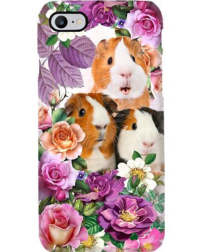 dt 8 Case flower guine pig