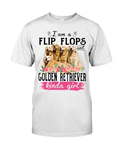 Golden retriever kinda girl