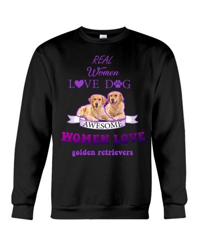 Mt 7 Awesome Women Love Golden Retriever Shirt