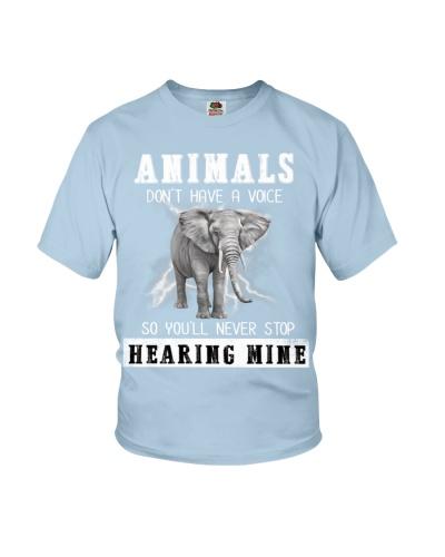 Elephant will never stop hearing mine