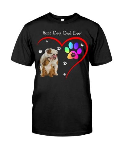 dt 11 bulldog Best Dog Dad Ever 26520