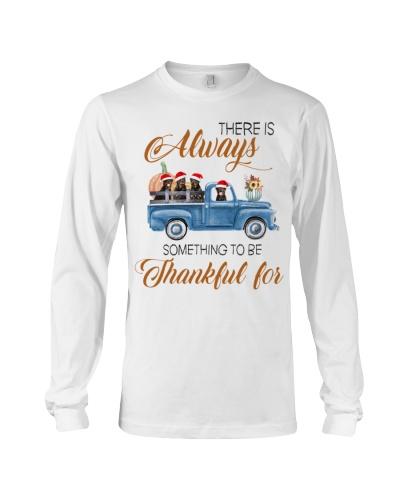 Rottweiler thankful for shirt