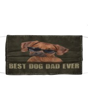 Th 2 Rhodesian Ridgeback Best Dog Dad Ever Cloth face mask front