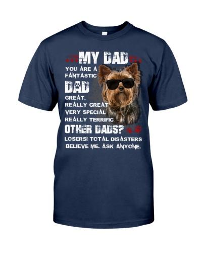 SHN 5 Fantastic dad terrific Yorkshire Terrier