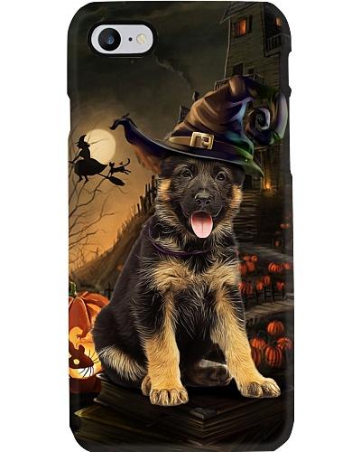 German shepherd halloween phone case