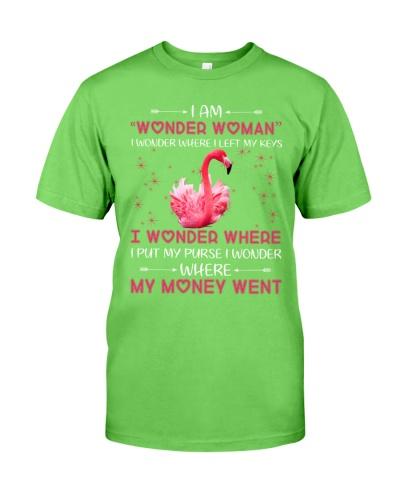 Iam wonder woman i wonder where i ledt Flamingo