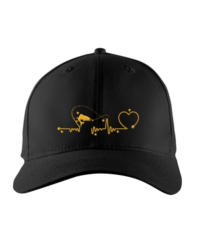 Fishing Heartbeat Hat