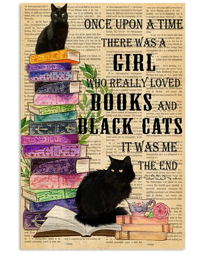 Loved books and black cats